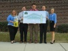 Check presentation to Heritage High School by Knoxville TVA Employees Credit Union