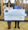Check presentation to Gatlinburg-Pittman High School by Knoxville TVA Employees Credit Union