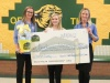 Check presentation to Northview Academy by Knoxville TVA Employees Credit Union