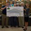 Check presentation to Sullivan Central High School by Knoxville TVA Employees Credit Union