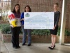 Check presentation to Sullivan East High School by Knoxville TVA Employees Credit Union