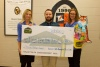 Check presentation to Pigeon Forge High School by Knoxville TVA Employees Credit Union