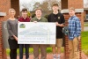 Check presentation to Gibbs High School by Knoxville TVA Employees Credit Union