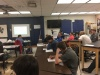 Sullivan South High School students in classroom with upgraded technology purchased with grant money